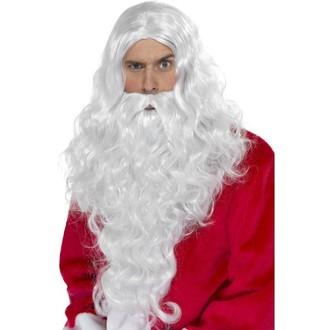 Paruky - Paruka a vousy - Santa