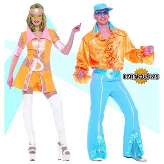 Kostýmy pro dospělé - dámský kostým Disco