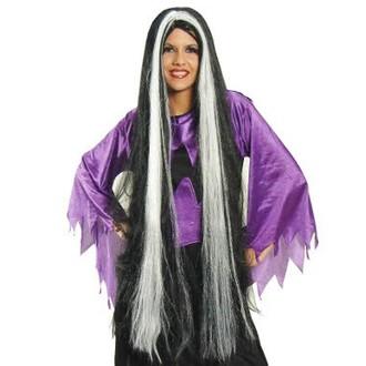 Paruky - paruka čarodějnice Lily - 100cm paruka
