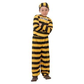 Kostýmy pro děti - Dětský karnevalový kostým Trestanec