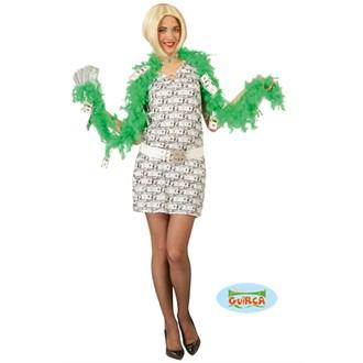 Kostýmy pro dospělé - Dámský kostým money