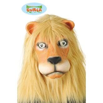 Masky - Škrabošky - Maska lev