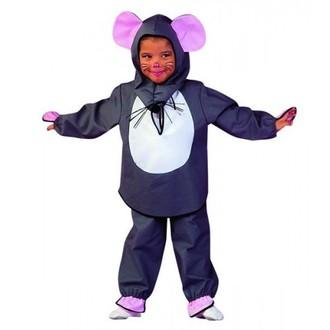 Kostýmy pro děti - karnevalová maska - dětský kostým myška