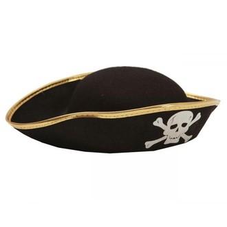 Klobouky - čepice - čelenky - Dětský klobouk Pirát 56 cm
