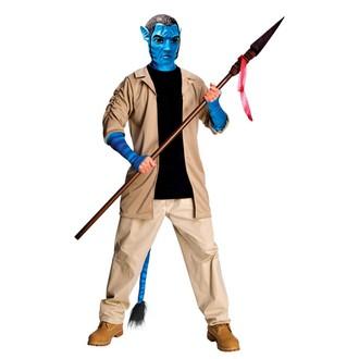 Kostýmy z filmů - Kostým Jake Sully deluxe