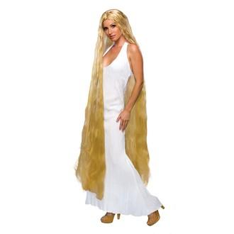 Paruky - Paruka Lady Godiva blond 150 cm