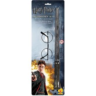 Kostýmy z filmů - Hůlka a brýle Harry Potter