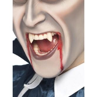 Doplňky na karneval - Bílé upíří zuby