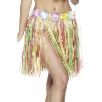 Havajské sukně - věnce - Havajská sukně multi 46 cm