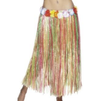 Doplňky na karneval - Havajská sukně multi 79 cm