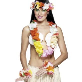 Doplňky na karneval - Havajská sada multi deluxe
