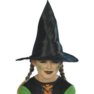 Klobouky - čepice - čelenky - Dětský klobouk Čarodějnice