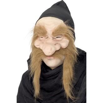 Masky - Škrabošky - Maska Zlatokop s kapucí