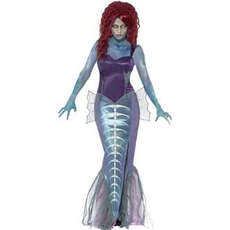Kostýmy pro dospělé - Dámský kostým Zombie Mořská panna