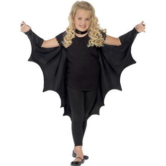 Kostýmy pro děti - Dětský plášť Upíří křídla
