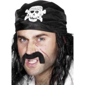 Klobouky - čepice - čelenky - Pirátský šátek