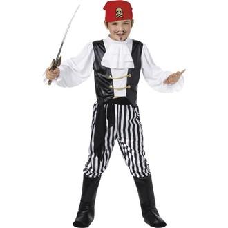 Kostýmy pro děti - Dětský kostým Pirát deluxe