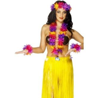 Doplňky na karneval - Havajská sada multi