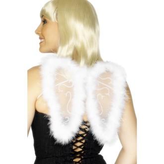 Čert - Mikuláš - Anděl - Křídla s chmýřím bílá