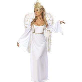 Čert - Mikuláš - Anděl - Kostým  anděl s křídly