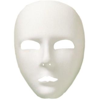 Masky - Škrabošky - Maka Viso Bílá