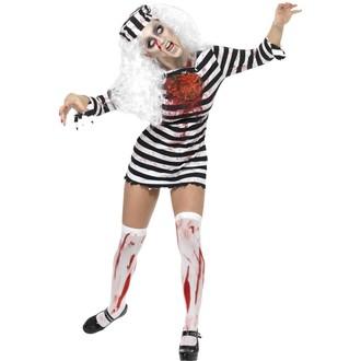 Kostýmy pro dospělé - Dámský kostým Zombie vězenkyně