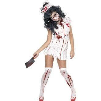 Kostýmy pro dospělé - Kostým Zombie sestřička