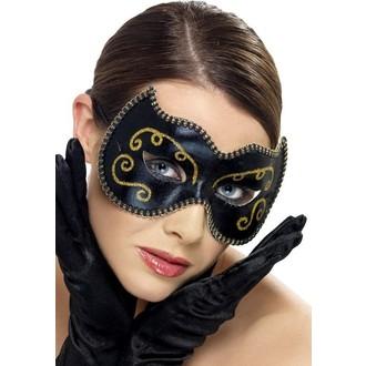Masky - Škrabošky - Škraboška Persian černá/zlatá