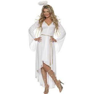 Kostýmy pro dospělé - Kostým Bílý anděl