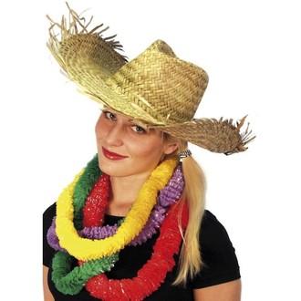 Klobouky - čepice - čelenky - Slamák Plážový- havajský klobouk