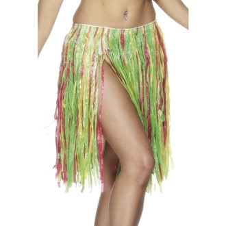 Havajské sukně - věnce - Havajská sukně multi 56 cm