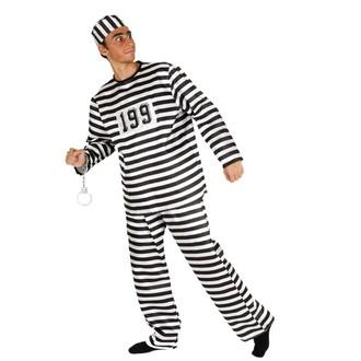 Kostýmy pro dospělé - Kostým Vězeň