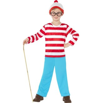 Kostýmy z filmů - Dětský kostým Where´s Wally?