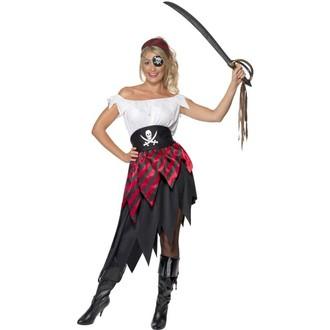 Kostýmy pro dospělé - Dámský kostým Pirátka