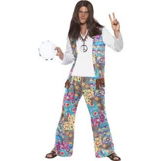 Kostýmy pro dospělé - Kostým Hippiesák