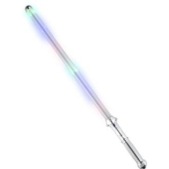 Doplňky na karneval - Světelný meč Duhový svítící