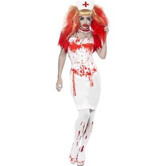 Halloween - Dámský kostým Zombie sestřička