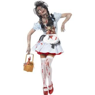 Halloween - Dámský kostým Zombie Dorothy