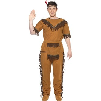 Kostýmy pro dospělé - Kostým Indián