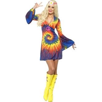 Kostýmy pro dospělé - Kostým Hippiesačka