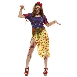Halloween - Kostým Zombie Sněhurka