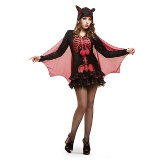 Halloween - Kostým Kostra netopýra