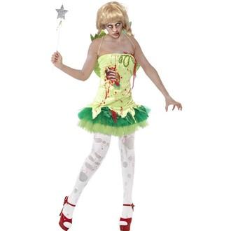 Halloween - Dámský kostým Zombie víla