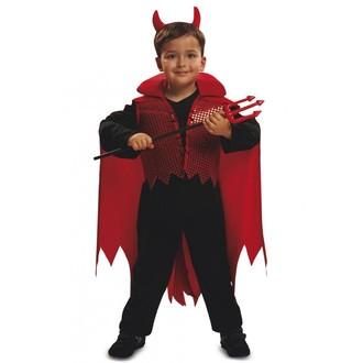 Čert - Mikuláš - Anděl - Dětský kostým Čertík