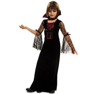 Halloween - Dětský kostým Sladká Lady Vamp