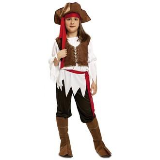 Kostýmy pro dospělé - Dětský karnevalový kostým Pirátka