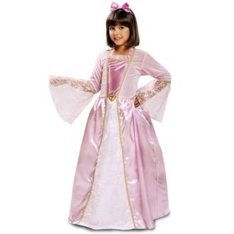 Kostýmy pro děti - Dětský kostým Princezna růžová