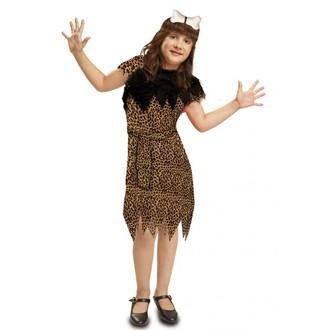 Kostýmy pro děti - Dětský kostým Jeskynní žena