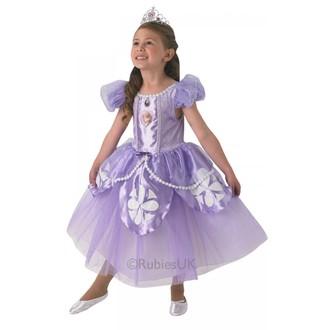 Kostýmy pro děti - Dětský kostým Sofia premium