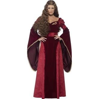 Kostýmy pro dospělé - Kostým Středověká královna